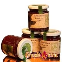 Mermelada de fresas y kiwi La Molienda Verde