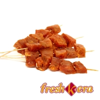 Pinchitos de cerdo pinchados