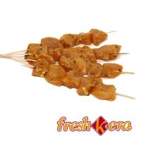 Pinchitos de pollo pinchados